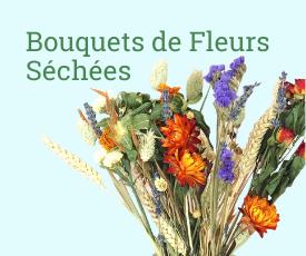 Bouquets de fleurs sechees/